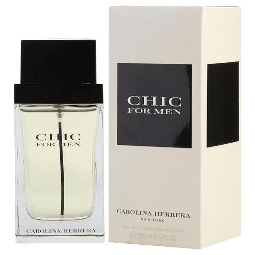 Perfume Chic For Men Carolina Herrera Masculino Eau de Toilette 100ml Masculino