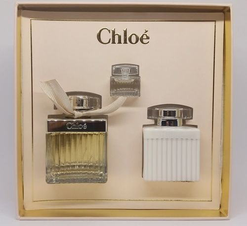 Kit Chloé Eau De Parfum 75ml + Creme Para Corpo 100ml + Miniatura 5ml - Feminino