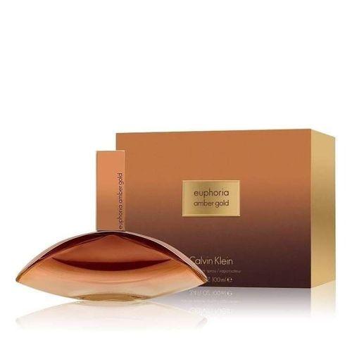 Perfume Euphoria Amber Gold Calvin Klein Eau de Parfum Feminino 100ml