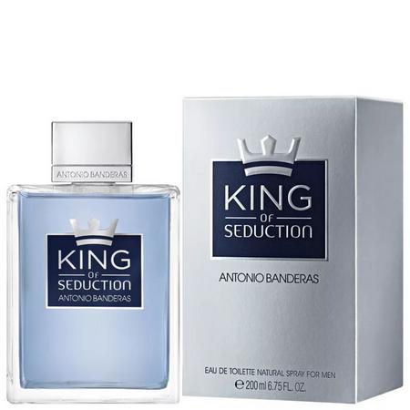 Perfume King of Seduction Antonio Banderas Eau de Toilette  Masculino 200ml