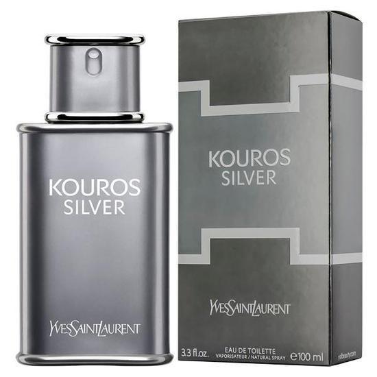 Perfume Kouros Silver Yves Saint Laurent Eau De Toilette Masculino 100ml