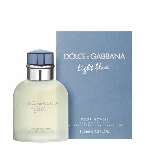 Perfume Light Blue Pour Homme Dolce&Gabbana Eau de Toilette Masculino 125ml