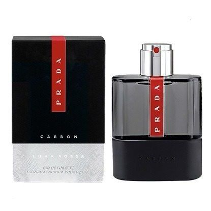 Perfume Luna Rossa Carbon Prada Eau de Toilette Masculino 100ml
