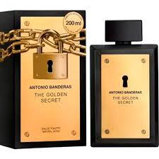 Perfume The Golden Secret Antonio Banderas Masculino Eau de Toilette 200ml