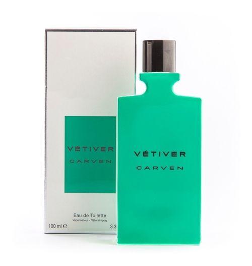 Perfume Vétiver Carven Eau de Toilette  Masculino 100ml