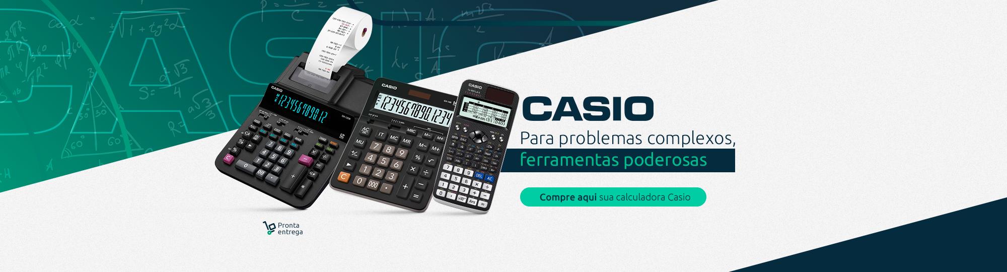 Calculadora Casio é na RN Distribuidora