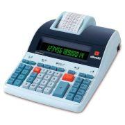 Calculadora com Bobina Comercial Olivetti 804 Logos 14 digitos Impressão Térmica
