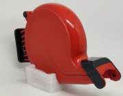 Dispenser de Senha Manual Bico de Pato - Vermelho
