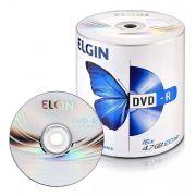 DVD-R Elgin 4.7GB com Logo - 100 unidades