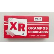 Grampo Cobreado 26/6 com 5000 grampos - Caixa com 29 und