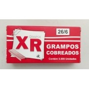 Grampo Cobreado 26/6 com 5000 unidades