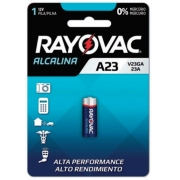 Kit com 10 Pilhas Alcalina Rayovac V23GA