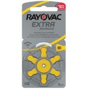 Kit Pilhas Auditiva Rayovac Tamanho 10 - PR70 - 60 und