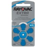Kit Pilhas Auditiva Rayovac Tamanho 675 - PR44 - 60 und