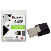 Pen drive Kingston USB 3.0 DTDUO3/64GB - Preto