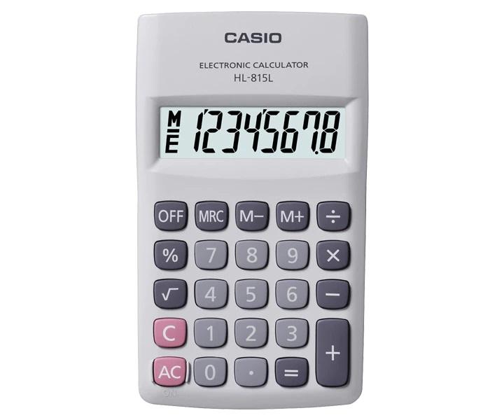Calculadora Casio de Bolso 8 Digitos HL-815L