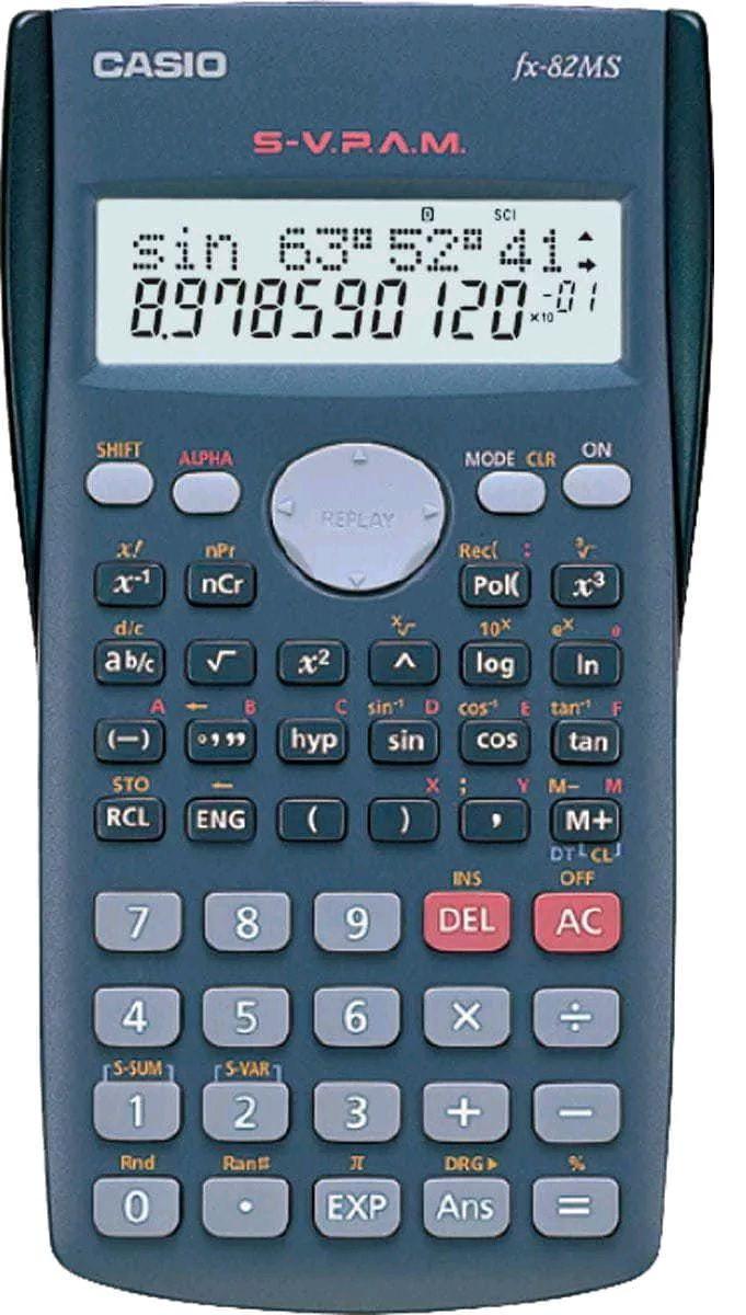 Calculadora Científica Casio Fx82 Ms - Manual Português