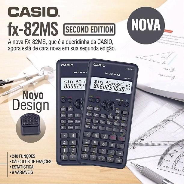 Calculadora Científica Casio Fx-82ms - Manual Português