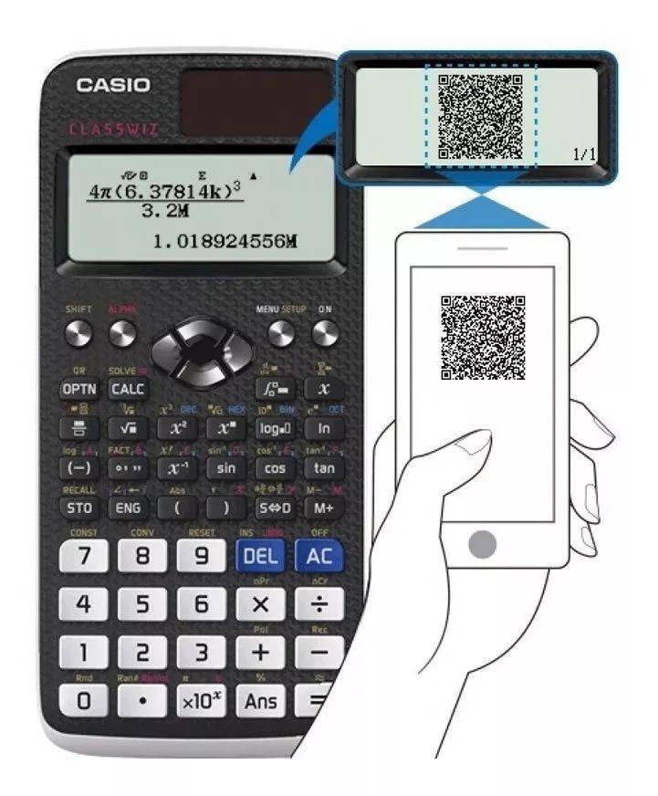 Calculadora científica com 553 funções, incluindo função planilha, fx-991lax-bk PT