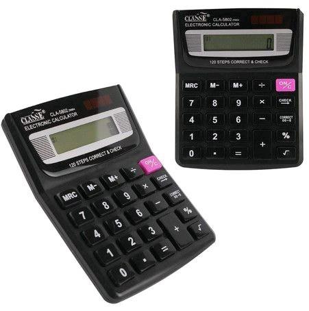 Calculadora Média 12 Digitos Kit com 5 unidades