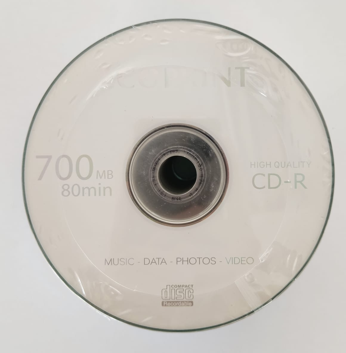 CD-R Virgem Ecoprint 700mb com Logo - 50 unidades