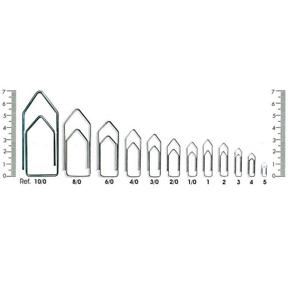 Clips Galvanizado Nº 0 com 810 unidades