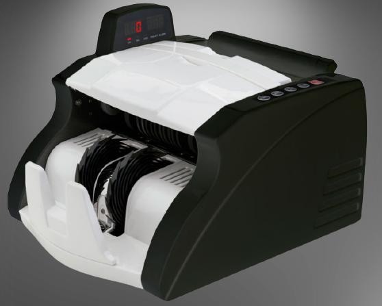 Contador de Cédulas Bivolt 420B Com detector de Cédula Falsa - Menno