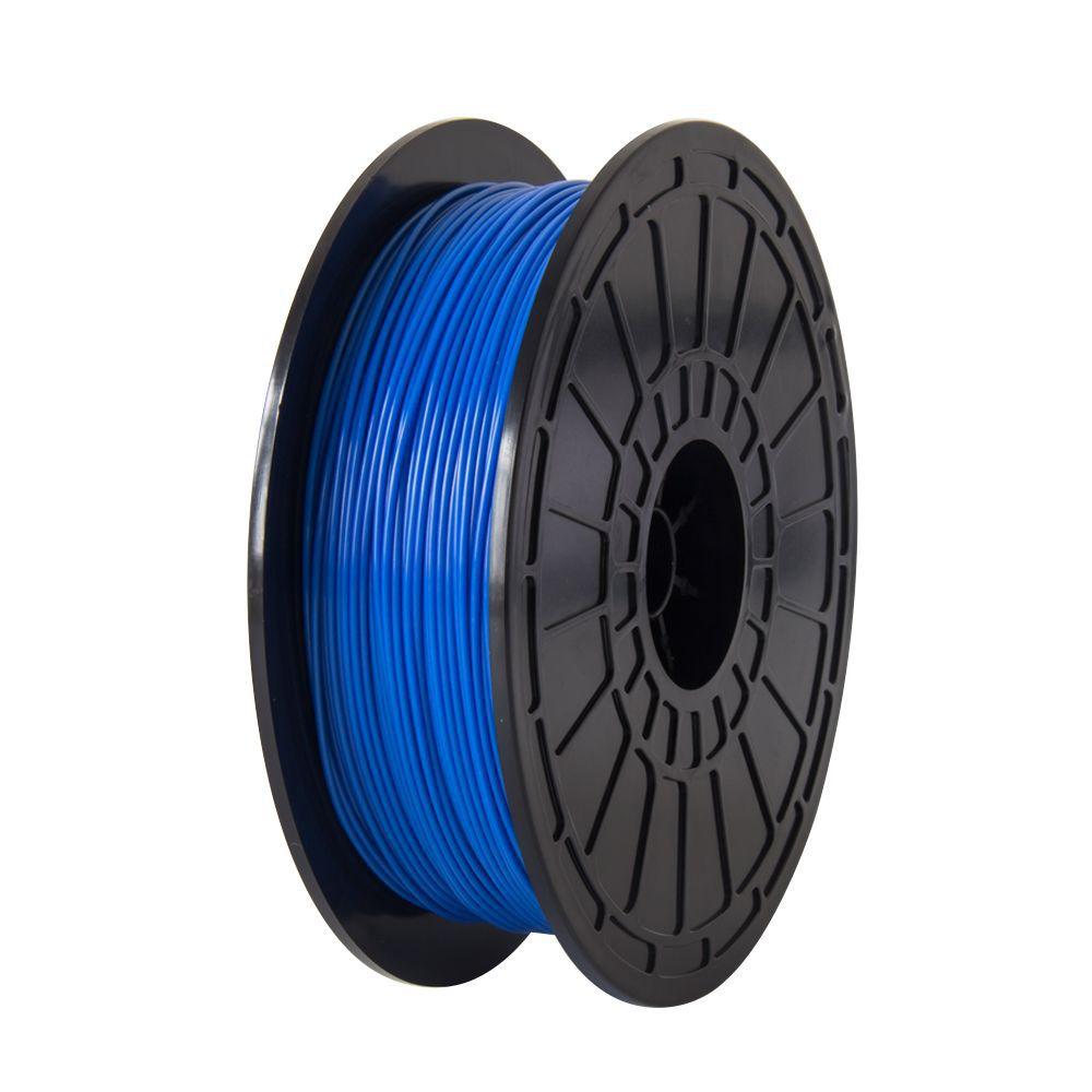 Filamento para impressora 3d PLA Azul Flexível 0,5Kg