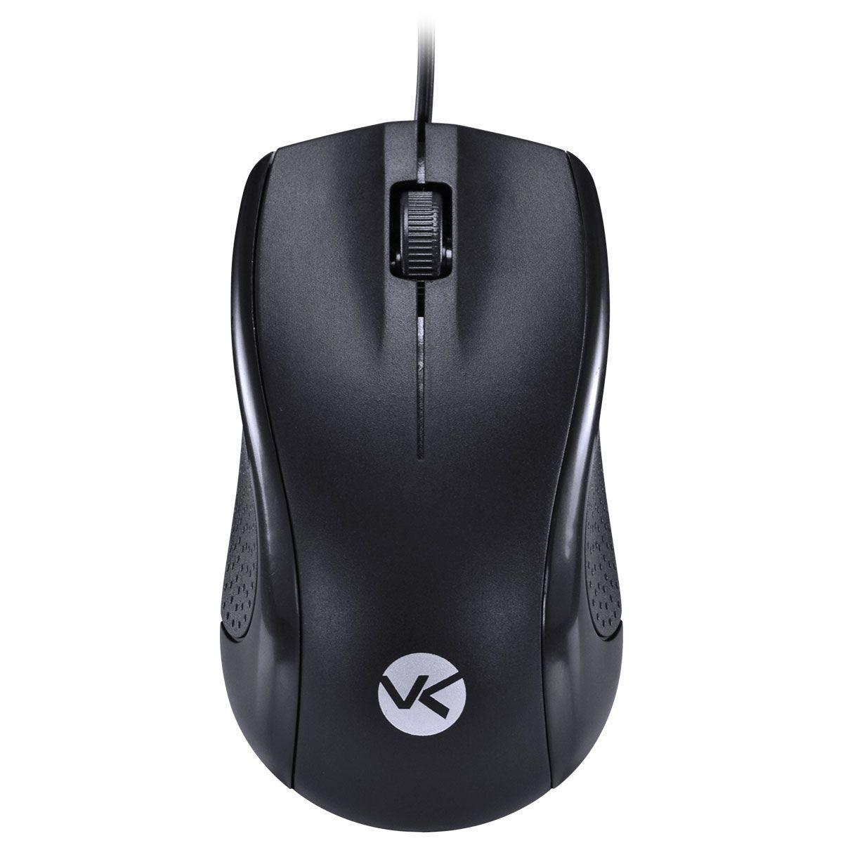 Mouse Óptico Corp - USB - Cabo 1.8mt - PRETO - CM100