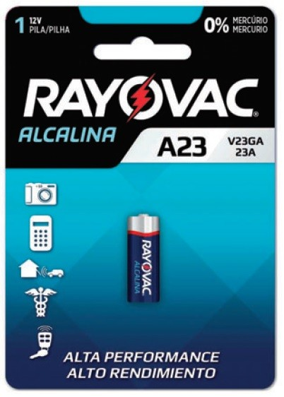 Pilha Alcalina Rayovac V23GA