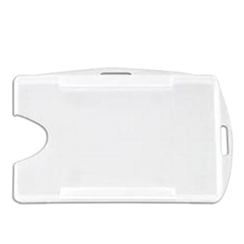 Porta Crachá Universal Transparente + Presilha - 700 Unidades