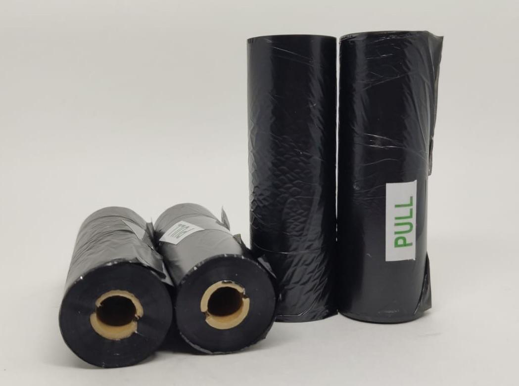 Ribbon Cera 110x91m OUT Preto - 4 unidades