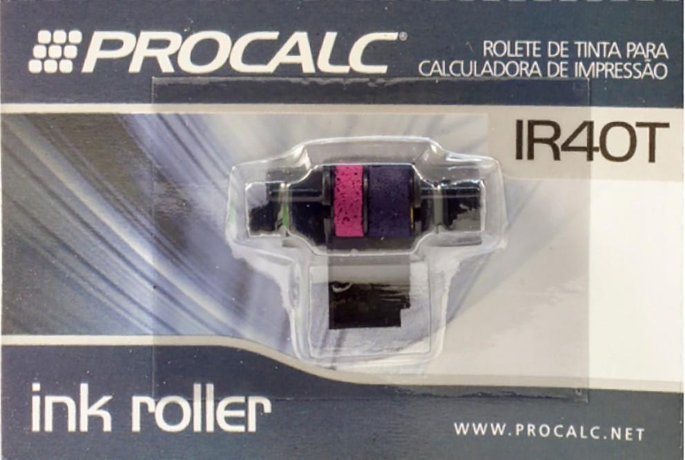Rolete de tinta para Calculadora de Impressão Bicolor IR40T