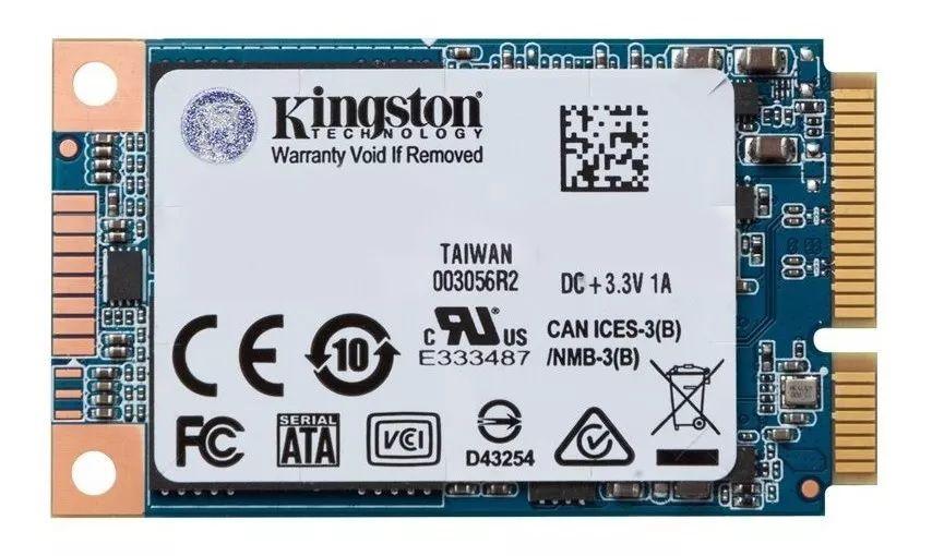 SSD Msata  Kingston Suv500 120g Flash Nand 3d Sata III