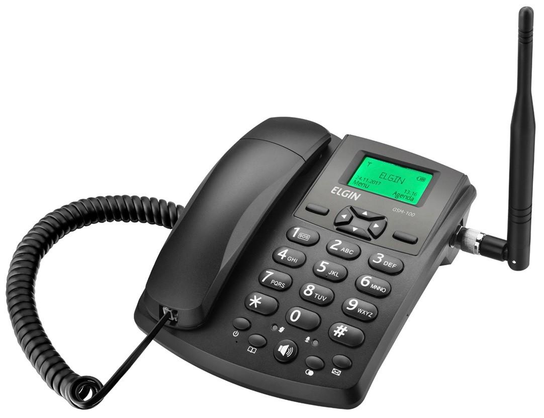 Telefone Rural GSM100 - Elgin