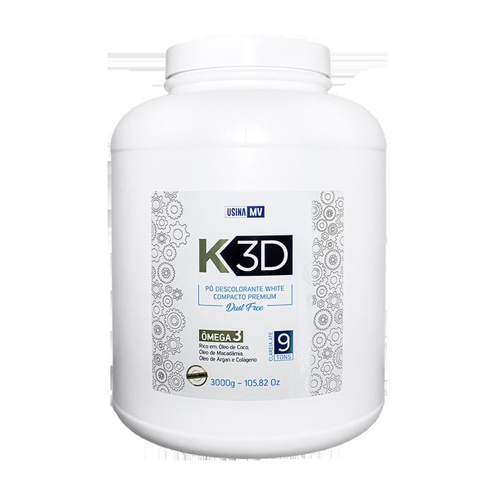 Pó Descolorante K3D 3Kg