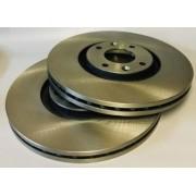 Disco freio dianteiro DS4, DS5, C4 Picasso, 307, 3008 (04-furos)(par) D695F