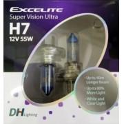 Lampada farol H-7 55W 12V Super Vision Ultra (par)  10706