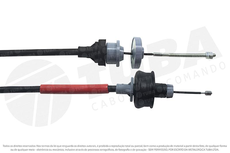 Cabo embreagem Peugeot 206 1.4 8V 00/...e 207 1.6 08/...             27201