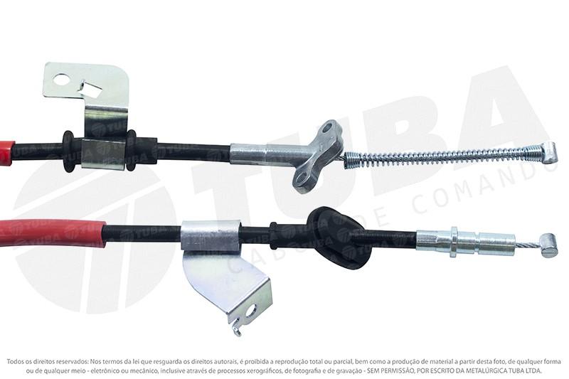 Cabo freio mao Honda Civic 01/06 (traseiro esquerdo-1755mm)  36001