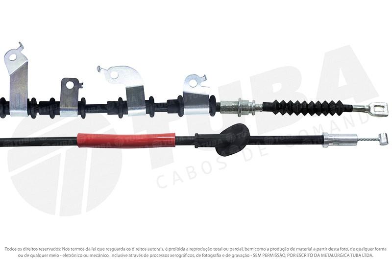 Cabo freio mao Honda Civic 07/11 (traseiro direito-2100mm)     36002