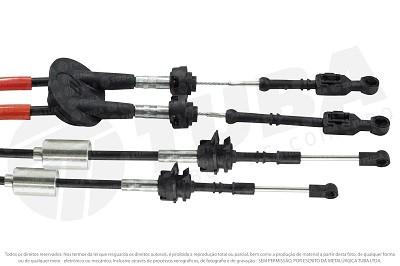 Cabo seletor Citroen C3 1.4/1.6 12/...(engate e selecao-1138mm)  32200