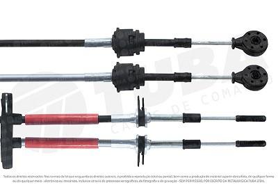 Cabo seletor Cobalt, Spin, Onix, Prisma 13/...(engate e selecao-1128mm) 7365