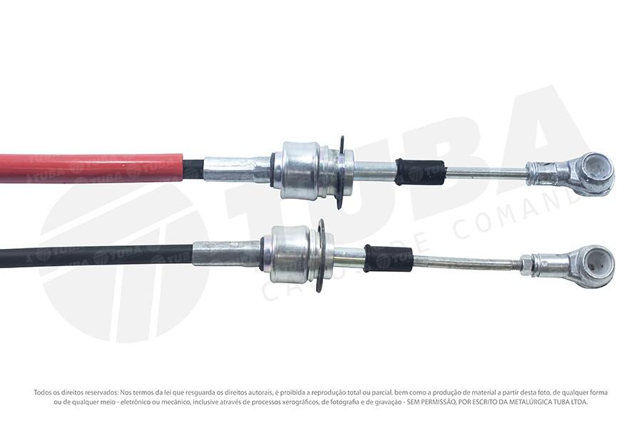 Cabo seletor Fiat Linea 09/12 e Punto 13/... (engate-1125mm) 6646