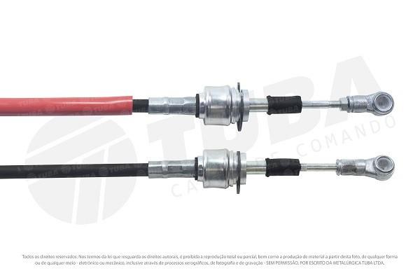 Cabo seletor Fiat Linea 09/12 e Punto 13/... (selecao-1139mm) 6647