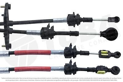 Cabo seletor Ka 1.5 14/18, Ecosport 12/17 (engate e selecao-1650mm)8910