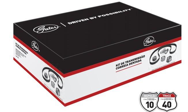 Kit correia dentada Citroen C3, Peugeot 106, 206, 207, 208, hoggar->KS500