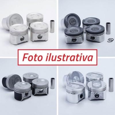 Pistao Chevrolet e Fiat motor 1.8 16V Gasolina Meriva e Stilo PGM18F/STD (jogo)