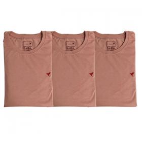 3 Camisetas Rosê