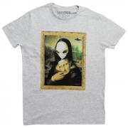Camiseta Alien Monalisa